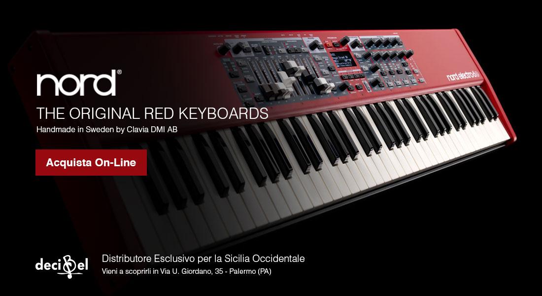Decibel s.r.l. Distributore esclusivo per la Sicilia Occidentale di Piano e Sintetizzatori NORD - Acquista Online